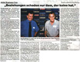 Presse, PR, Public Relations, Zeitung, Club, ABC, Business, Clubzeitung
